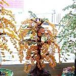 Инвалид-колясочница из Терновки выращивает сады из бисера