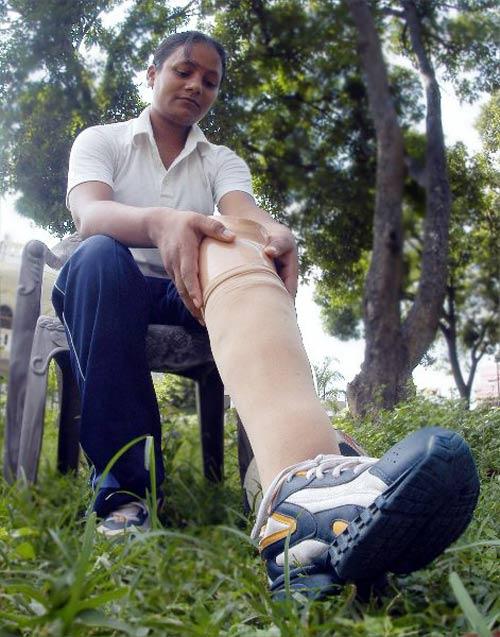 Женщина-инвалид из Индии совершила восхождение на Эверест