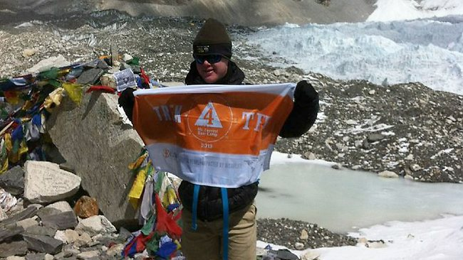 Подросток с синдромом Дауна покорил Эверест