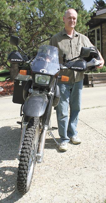 Путешествие на мотоцикле в поддержку людей с травмой спинного мозга