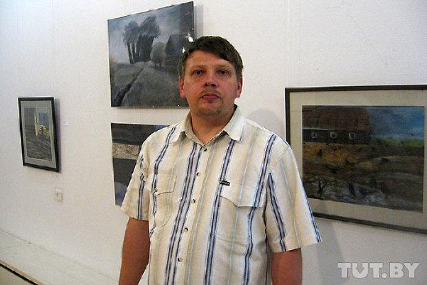 Выставка художника-самоучки из Бреста, страдающего аутизмом, проходит в Витебске