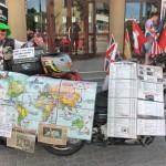 Глухонемой байкер, за плечами которого 90 стран и 750 тысяч километров, вернулся в Беларусь