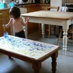 Трехлетняя девочка с аутизмом может стать новым Пикассо