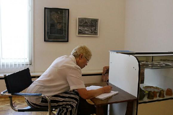 Светлана Дашкевич оставляет свой отзыв о выставке.