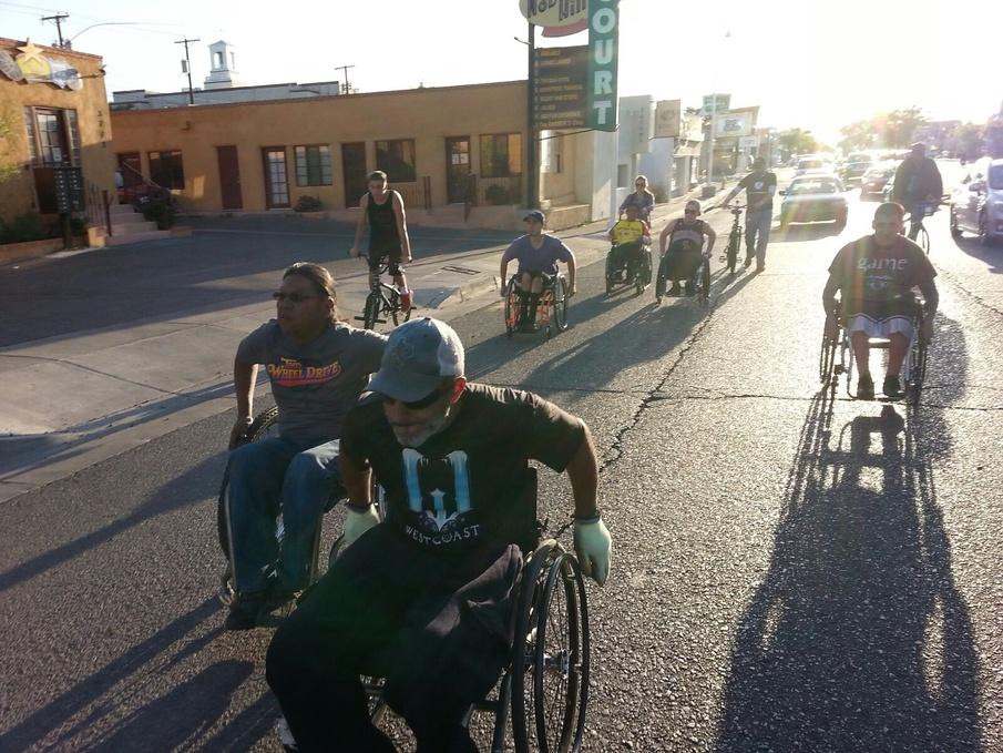 Габриэль Корделл: 3100 мильный марафон на инвалидной иоляске за 99 дней