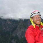 Слепой альпинист покорил самую опасную скалу