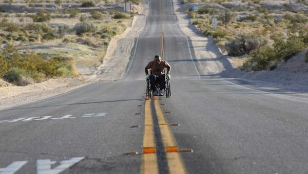 Габриэль Корделл: 3100 мильный марафон на инвалидной коляске за 99 дней