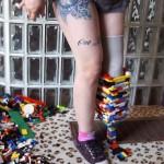 Американка собрала из Lego ножной протез