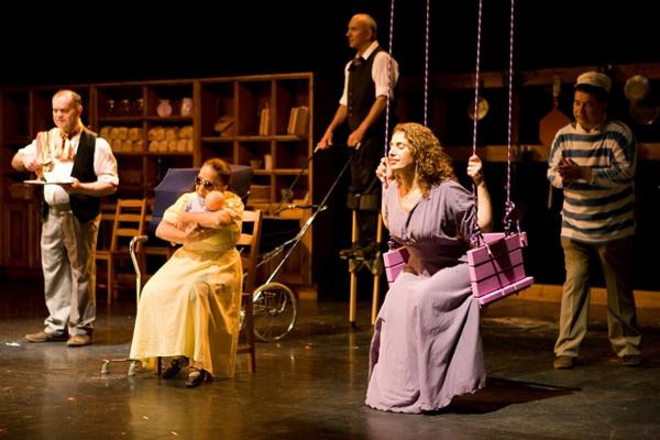 На Лагаат: Театр прикосновения
