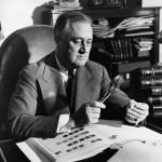 Они победили полиомиелит: Франклин Рузвельт