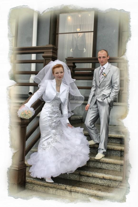 Пять лет назад. Фото из свадебного альбома семьи Винарских
