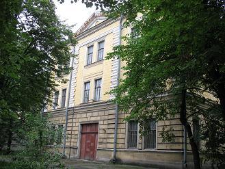Александровская больница (Наб. реки Фонтанки, 132), где коммунисты зверски издевались и убили святую Марию Гатчинскую.