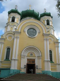 Павловский собор (г. Гатчина) - место упокоения святой Марии Гатчинской.
