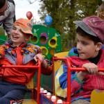 В России открылась первая детская площадка для ребят с отклонениями в умственном развитии