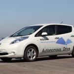 Nissan выпустит «беспилотный» автомобиль к 2020 году