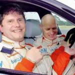 Слепой водитель установил новый рекорд скорости