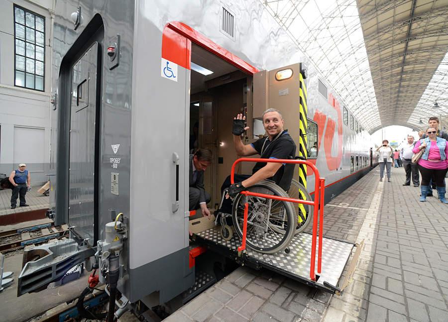 В Москве презентовали двухэтажные пассажирские вагоны