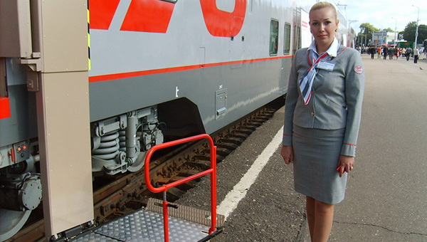 В Рязани прошла презентация специализированного вагона для перевозки инвалидов