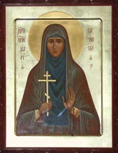 СВЯТАЯ МАРИЯ, МОЛИ БОГА О НАС.