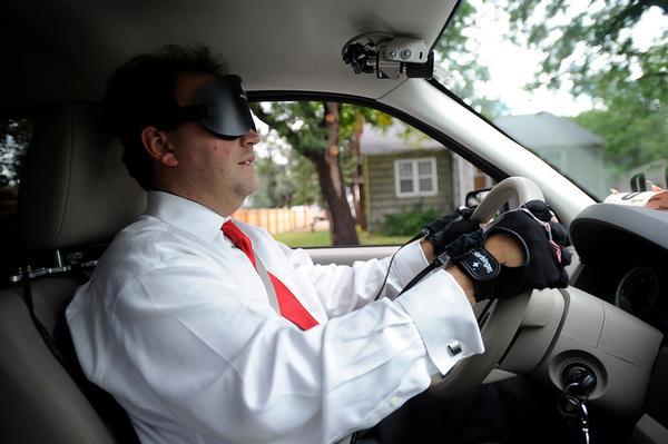 Прирученная техника: автомобиль для слепого
