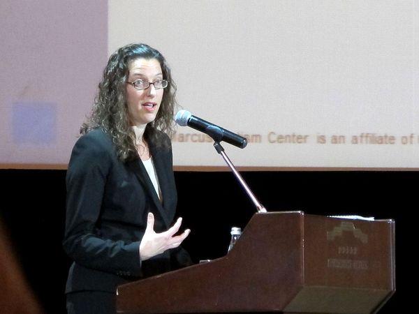 Кристин Холл: нужно поддерживать не столько детей с аутизмом, сколько семью в целом