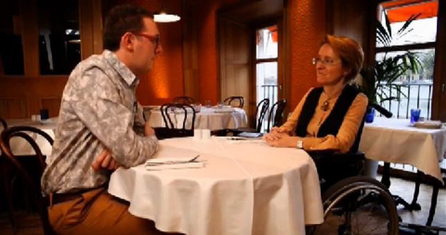 За обедом: Ирина Ясина — о том, когда инвалиды выйдут на улицы