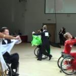 Латину на инвалидных колясках станцевали в Петербурге