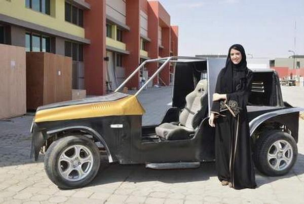 Студентам из ОАЭ предоставлен патент США на автомобиль управляемый ногами