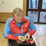 Паралимпийцы готовятся к Играм в Сочи