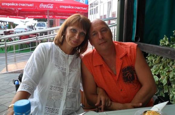 Марина со вторым мужем Юрием