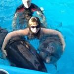 2013: Патриция Курганова покорила Градского и искупалась с дельфинами