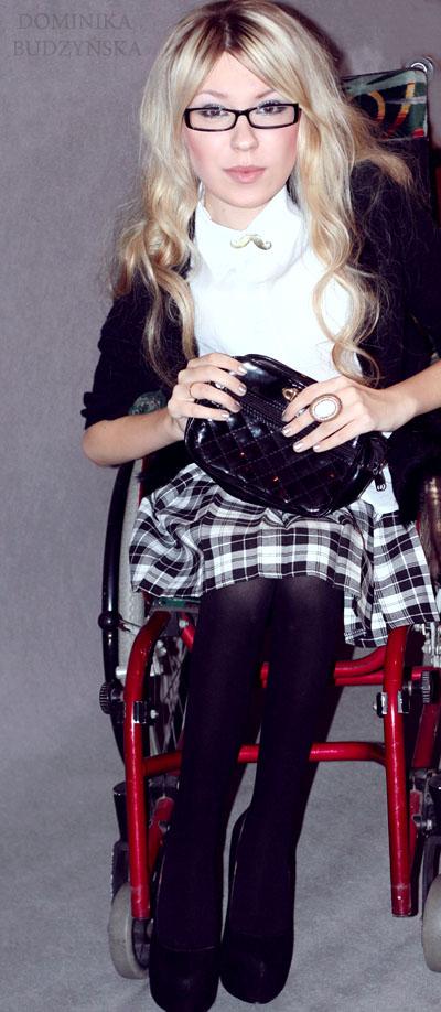 Я не помню, чтобы кто-то изменил ко мне отношение из-за коляски, говорит Доминика