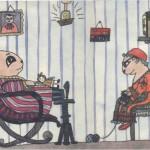 «Мама и папа в виде хомячков» (1986)