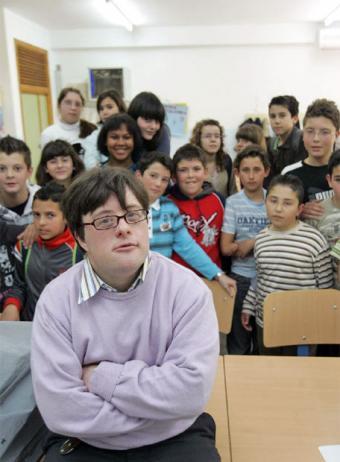 Пабло с учениками