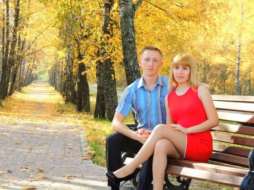 Паралимпиец Олег Балухто с супругой Ольгой