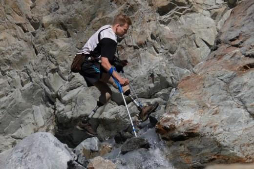 Сергей Александр потерял обе ноги в результате восхождения на Эльбрус