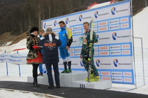 Сергей — бронзовый призер Чемпионата России