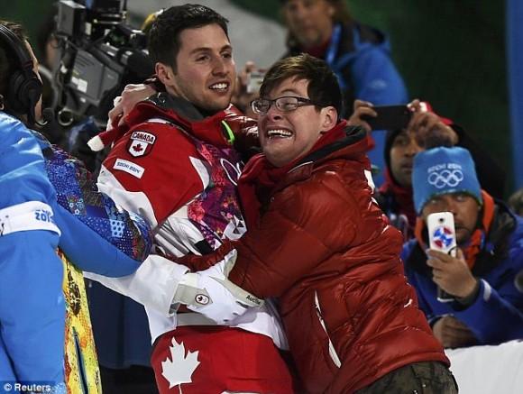 Победа в Канаде в 2010 году. После этих снимков Фредерик стал так же знаменит, как Алекс