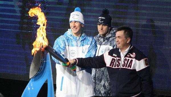 История эстафет огня Паралимпийских игр