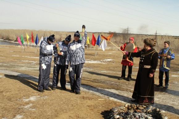 Паралимпийский огонь в Хакасии