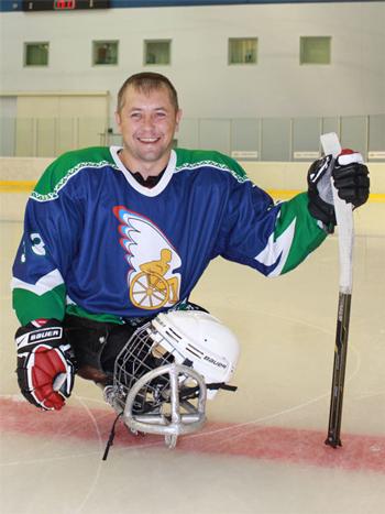 Александр Чалин за два года научился кататься на льду и вошел в сборную России.
