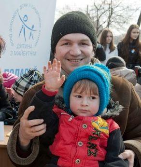 Александр Панченко с сыном