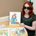 Слепая студентка стала лучшим иллюстратором года