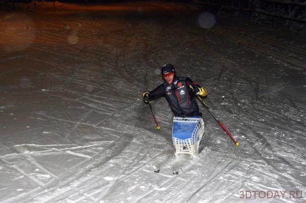 Сочи 2014: Паралимпийский атлет из Германии будет соревноваться на распечатанных на 3D-принтере лыжах