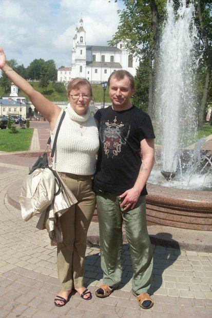 Владимир Батуро с женой.