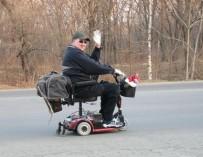 Проехавший полмира в инвалидной коляске, рассказал о трудностях инвалидов в РФ