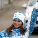 Липницкая, Хаматова и другие: кто нес паралимпийский огонь в Москве?
