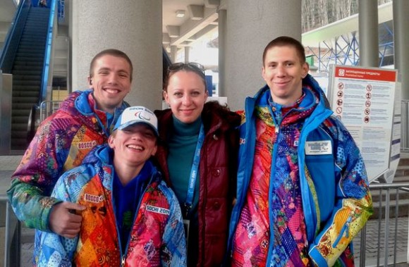 Татьяна Тяпкина с волонтерами