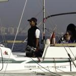 Яхтсменка прошла через Индийский океан, управляя ртом с помощью системы sip-and-puff (вдох-выдох)