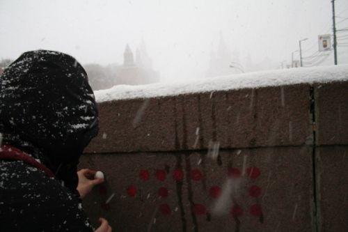 За работой в Москве, 2007